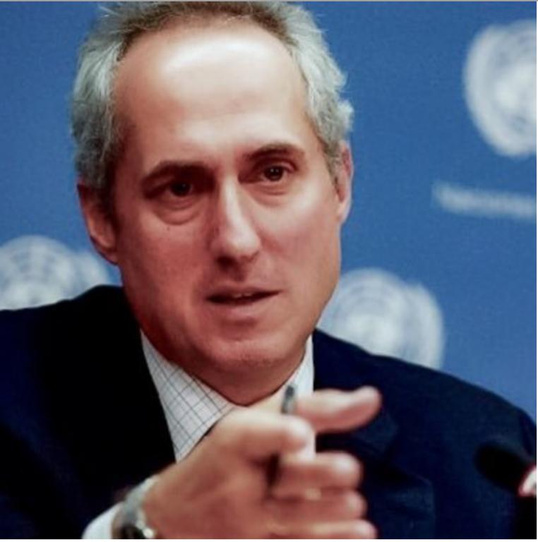 Mr.Stéphane Dujarric, Keynote Speaker UN Day Luncheon 2016