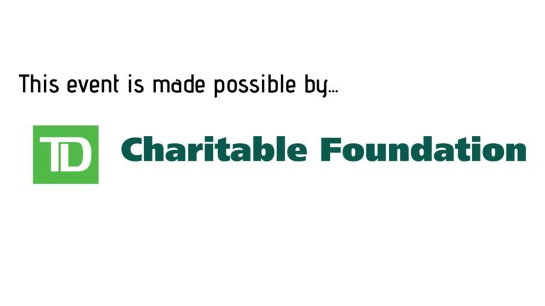 Thanks to TD Charitable Foundation